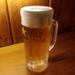串ぼうず - ドリンク写真:ビール 420円