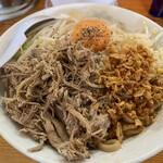 麺とび六方 - 汁なし麺 並 880円