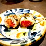 鶏屋 はっぽんめ - トマト豚捲き