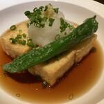 蕎庭 - 揚げ出し豆腐