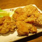 FARO 花楼 - 定番 若鶏の唐揚げ 5個 700円(税別)。     2020.12.04