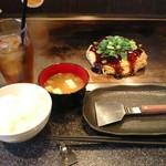 かめ家 - 広島焼 豚焼き 平日ランチタイムサービス