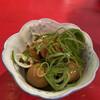 ラッキー餃子会館 - 料理写真:うずら卵 燻製醤油漬320円税別