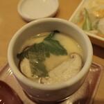 寿し松 - 茶碗蒸し