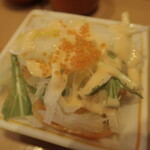 寿し松 - サラダ