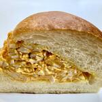 セシュエット - 弾力のあるもっちりソフトなパンに 濃厚なタマゴサラダをたっぷりサンド