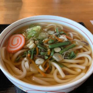 多古爺 - 料理写真:山菜うどん(小)¥700