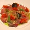 Bribon  - 料理写真:長崎産カンパチのカルパッチョ