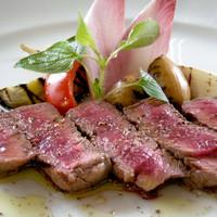 サルターレ - 秋田県産 最高ランクA5の横手牛を使用したステーキは絶品!!