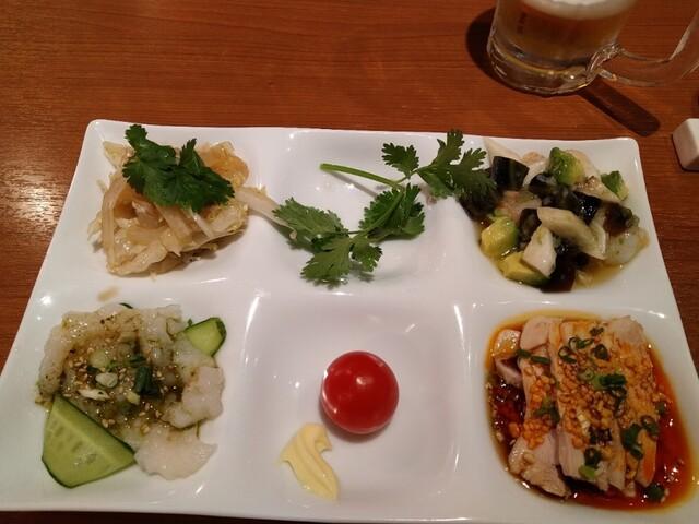 百菜百味 銀座店の料理の写真