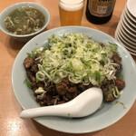 ニュー 菜苑 - 「純レバ丼」1100円