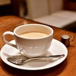 喫茶ネギシ - イタリアンブレンド(HOT)@580円