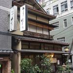 竹むら - 淡路町駅A3出口からすぐ。風情のある建物です。