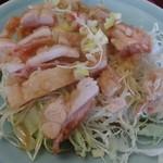 中華料理 萬福 - 油淋鶏