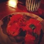 まるげ - トマトとバジルのカリカリパン
