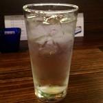 kitchenばるきど - 芋焼酎水割り(訪問2回目)