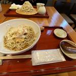 ひろしま 蕎麦人 - たぬき蕎麦950円