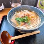 手延べ麺お食事処 銀四郎 - 手延べきつねうどん ¥580 (税込)