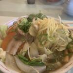 ラーメンハウス 喜楽園 - 太麺