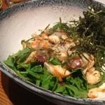 トクトク - シーフードとほうれん草のサラダ♡