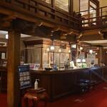 日光金谷ホテル - 1階フロント付近