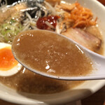 野方ホープ - こってりした「濃」のスープ