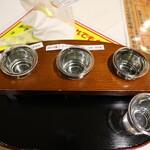 いばらき地酒バー 水戸 - 飲み比べセット