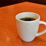 ベトナムビストロ バンフィールド - ドリンクセット@200円:ホットコーヒーを。