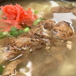 熊さん麺ショップ - お肉の量もたっぷりです♪