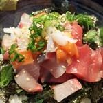 142603969 - 漁師めし定食海鮮丼