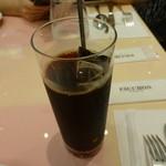 フォション・サロン・ド・テ - アイスコーヒー