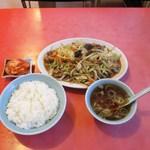 郷華 - 料理写真:肉野菜炒め定食