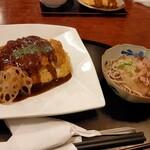江戸屋 - ボルガの並200gおろし蕎麦に変更