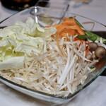 ジンギスカン蝦夷 - 焼き野菜盛り合わせ 2人前