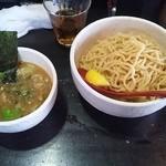 14262123 - 牛ホルモンのつけ麺(大)