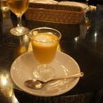 14262696 - カボチャの冷製スープ