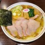 142622747 - 塩焼豚ワンタン麺