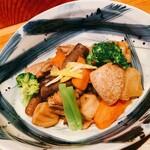 The四季處 飛来 - 鶏肉と野菜の田舎煮