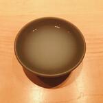鮨 麻生 平尾山荘 - 料理写真:ハマグリのスープ