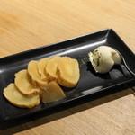 クオン - 2012.8 いぶりがっことクリームチーズの初恋(380円)