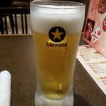 マルヤス酒場 - 生ビール:150円+税