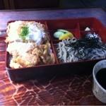 砂場 - 料理写真:カツ丼セット1100円