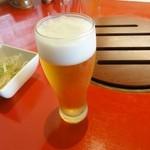 千乃房 - ビールは美味しい450円