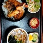 しょうへいうどん - 料理写真:天丼セット(税込1150円)ドリンク付