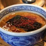 三田製麺所 - 辛そう!だけど辛くないです