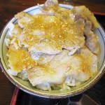 たきの家 - ミニ豚丼