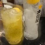 お値段以上の大衆居酒屋 大金星 - 大金星レモンサワー、
