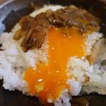 リストランテ小林 - 安藤養鶏場のこだわり卵のTKG 黒トリュフとパルミジャーノ