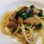 リストランテ小林 - 料理写真:パスタ イタリア産ポルチーニ茸と菜の花のガーリック風味
