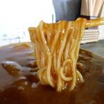 吉野家 - カレーそば 麺が重い
